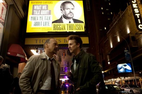 Riggan and Mike Shiner, played by Edward Norton