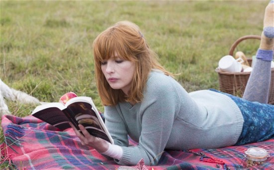 Kelly Reilly as the troubled Fiona